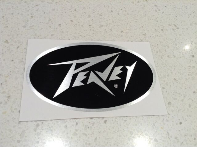 PEAVEY MUSIC AMPS GENUINE STICKER, FREE POST,GUITAR DRUMS AMPLIFIERS ELECTRIC