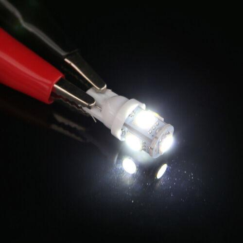 20X 12V T10 5SMD 5050 LED Canbus Error Free Interior Light Lamp Wedge Bulb ndrf
