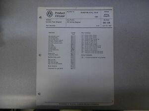 s l300 1985 vw quantum 4 cylinder cis e a c wiring diagram service manual