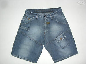 G-Star RAFF ELWOOD Jeans Shorts, W 30, Gr. S, TOP ! Vintage Denim, kurze Hose !