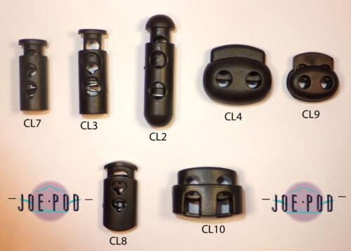 7 tailles à choisir PK De 10 Cordon verrous extra forte springs.fastener en acier