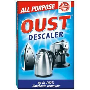 Oust Descaler Sachets Limescale Remover