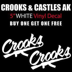 "Jimi Hendrix Logo 6/"" Wide White Vinyl Decal Sticker BOGO"