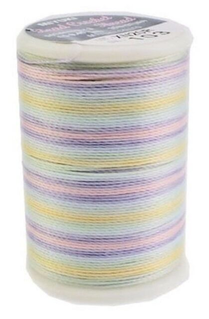 Miyuki Beading Crochet  MultiColor Thread 25 m