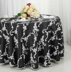 Round Table Overlays.Details About Wedding Linens Inc 120 Ribbon Taffeta Round Table Overlays