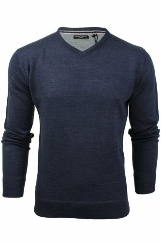 Brave Soul Mens Jumper Warm Winter Sweater Knitted Pullover Sweatshirt Casual L