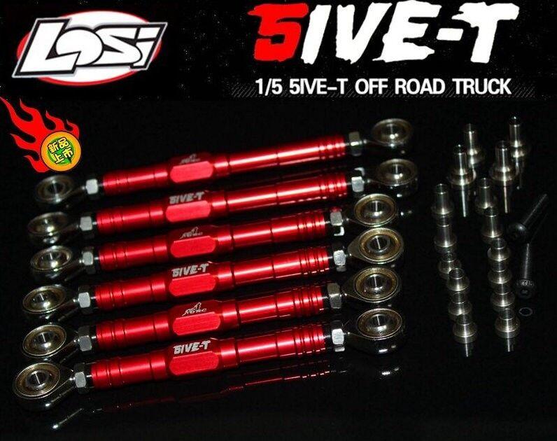 The LOSI 5 ive - T strengthen  metal before e after the suspension steering dra  risparmiare sulla liquidazione
