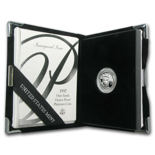 1//10 oz Proof Platinum American Eagle SKU #60189 Random Year, w//Box /& COA