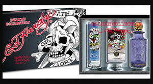 Ed-Hardy-MEN-Deluxe-Collection-LOVE-amp-LUCK-Born-Wild-VILLAIN-1-oz-eaxh-x-3-NEW