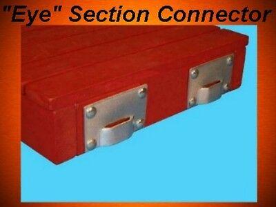 Stationary Pipe Boat Dock Hardware Bracket Eye 515