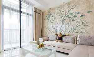 3D-Simple-Branch-Fish-Wall-Paper-Wall-Print-Decal-Wall-Deco-Indoor-wall-Murals