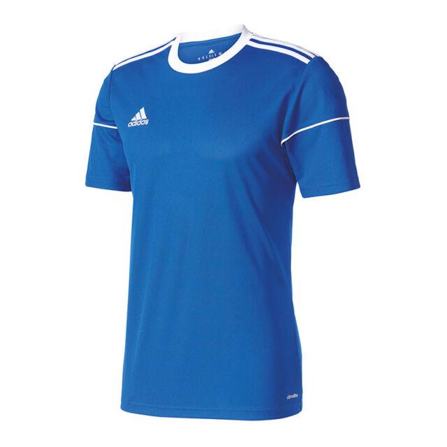 Adidas Squadra 17 Maglia Manica Corta Bambini Blu Bianco