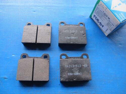 1100 Opel Plaquettes de freins AV//AR Pagid pour: Simca: 1000 1200S 1301