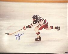 "Mike Eruzione ""Miracle On Ice"" Team USA Hockey Autographed 16X20 w/ Leaf COA"
