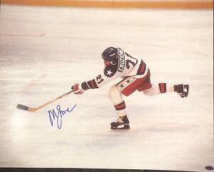 Sports Mem, Cards & Fan Shop Mike Eruzione Autographed 1980 Team Usa Miracle On Ice 16x20 Photo Jsa Coa