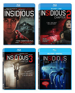 Insidious 1 4 Complete Collection Includes The Last Key Blu Ray New Ebay