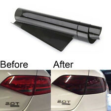 Glossy Black Tint Vinyl Film Wrap Sheet For Headlight Backup Light Tail Light Fits Mazda 6