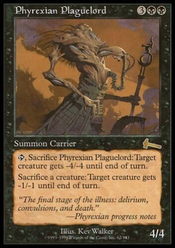 MTG 4x PHYREXIAN PLAGUELORD Urza/'s Legacy *Rare*