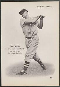 Boston-Red-Sox-Bobby-Doerr-Mel-Parnell-cut-B-W-photo-measuring-7-1-2-034-x-10-034