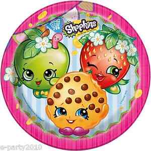 Paper plates 8 birthday party supplies dinner luncheon toys ebay