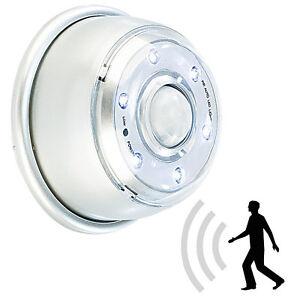 lunartec led innen au enlicht mit pir sensor magnethalterung ip44 100 lm ebay. Black Bedroom Furniture Sets. Home Design Ideas