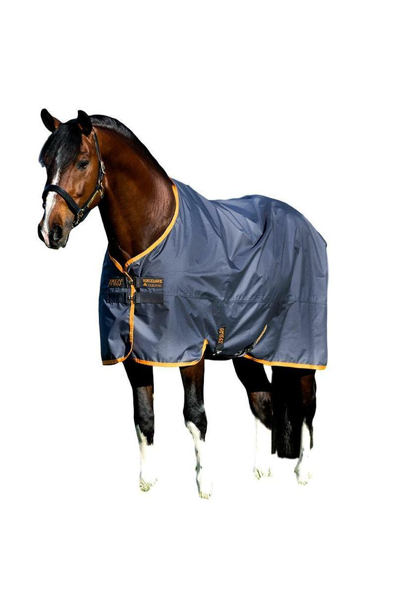Horseware Ireland Amigo Hero 600D Lite participación hoja con arcos de pierna-Relleno de 0g