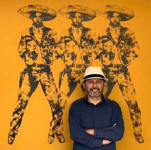 Big-Mexican-silkscreen-POP-Art-Andy-Warhol-Tribute-60-034-x-60-034-Jorge-Negrete-8-10
