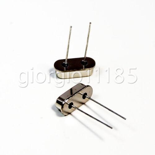 US Stock 20pcs 6.4MHZ 6.40M HZ HC-49S Crystal Oscillator Arduino Breadboard