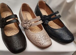 Ladies Annabelle 'Valerie' Shoes Wide Fit Free P/&P With Comfort Fit
