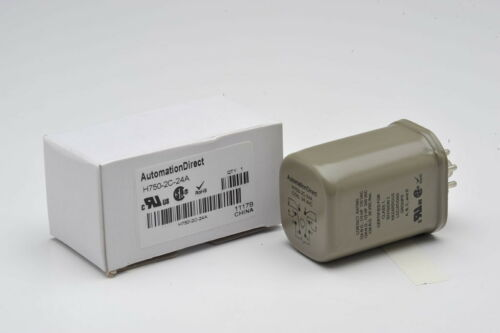 Automation Direct H750-2c-24a Octal Relay 12a Dpdt 24vac Coil 8-Pin