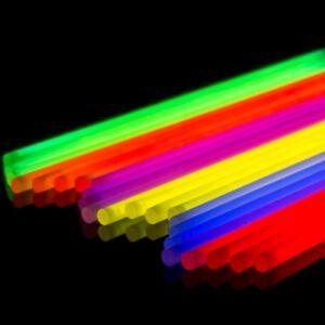 P045-Jeu-de-25-Pack-fils-fluos-en-couleur-neon-par-env-20cm-Tube-fluorescent
