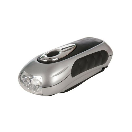 Silverline 839905 Wind-Up 3 LED Torch