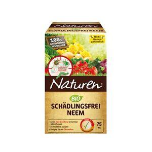 Naturen bio sch dlingsfrei neem 75 ml kartoffelk fer for Trauermucken insektizid