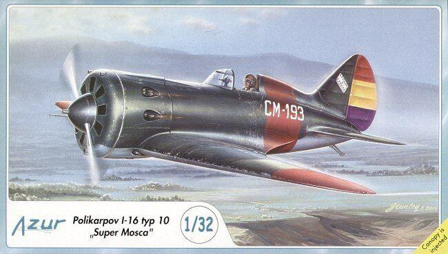 Azur 1 32 Polikarpov I-16 type 10 'Rata'