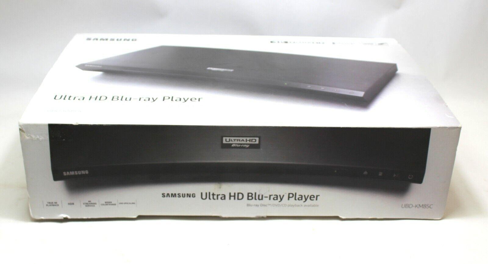 Samsung (UBD-KM85C) 4K Ultra-HD Streaming Blu-Ray Player Built-in WiFi W/ Remote player remote samsung streaming wifi