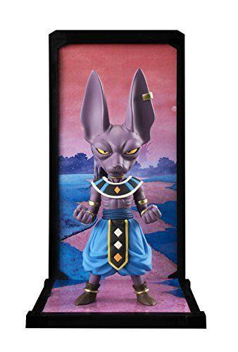 "Bandai Tamashii Nations Tamashii Buddies Beerus /""Dragon Ball Super/"" Statue"