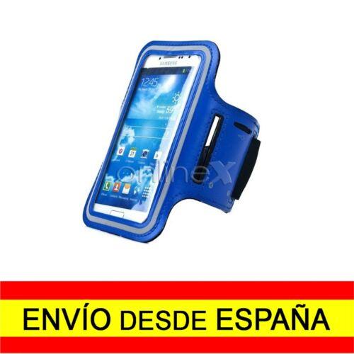 Brazalete Deportivo Neopreno AZUL SAMSUNG GALAXY S10 Running Senderismo a0360