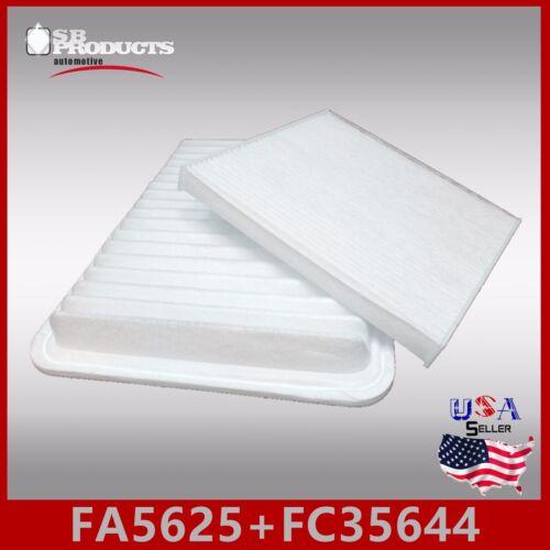 FA5625 FC35644 CA10163 CF10374 ENGINE /& CABIN AIR FILTER ~ 2006-2018 TACOMA 2.7L