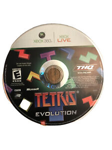 Tetris Evolution Xbox 360 Game Disc Only 80e