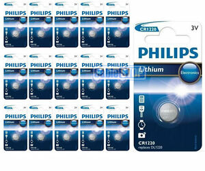 16-x-Philips-CR1220-3V-Lithium-Button-Battery-Coin-Cell-DL1220-EXPIRY-2020
