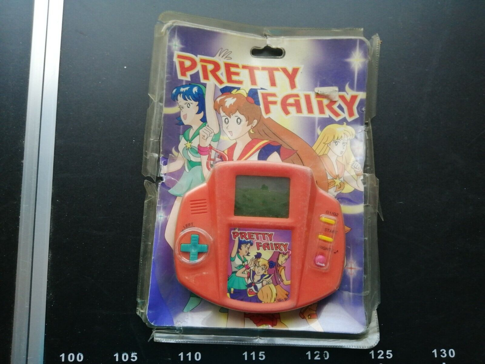 Vintage Sailor Pretty Fairy Soldiers Moon Lcd Lsi Juego Hand Electronic