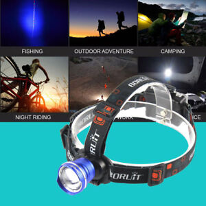 BORUIT 20000LM XM-L T6 LED 3 AA Zoomable Headlamp Flashlight Ships Free From US!