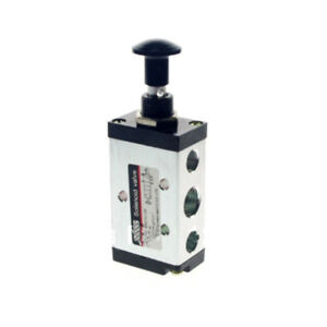 """Operated Air Valve 5Port 2Position 3/8"""" BSPT Hand Return Manual Control 4R310-10"""