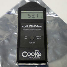 COOKE CAL-LIGHT 400 CALIBRATED PRECISION LIGHTMETER 40,000 FC / 40,000 LUX