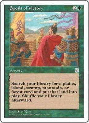 Spoils of Victory NM MTG Portal Three Kingdoms P3K Magic Gathering 2B3