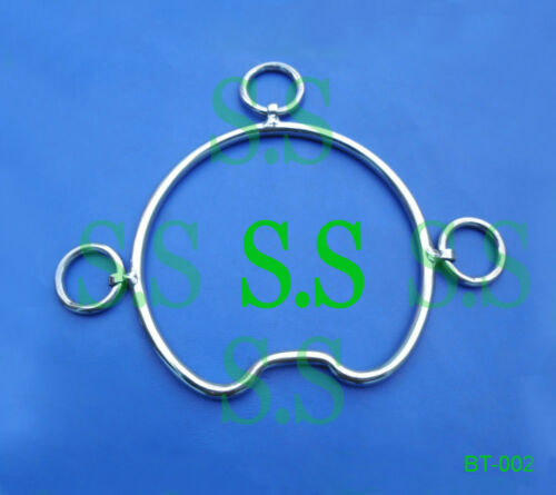 2 Pieces Of Anti-Rearing Stainless Steel Horse Bit BT-002