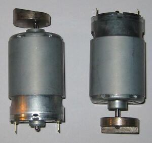 2-X-Mabuchi-555-Massager-Motor-12V-DC-4000-RPM-Heavy-Vibrator-Brass-Weight
