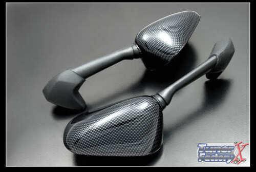 Fibre de carbone Miroir Pour Yamaha R1 2007-2008 gauche /& droite