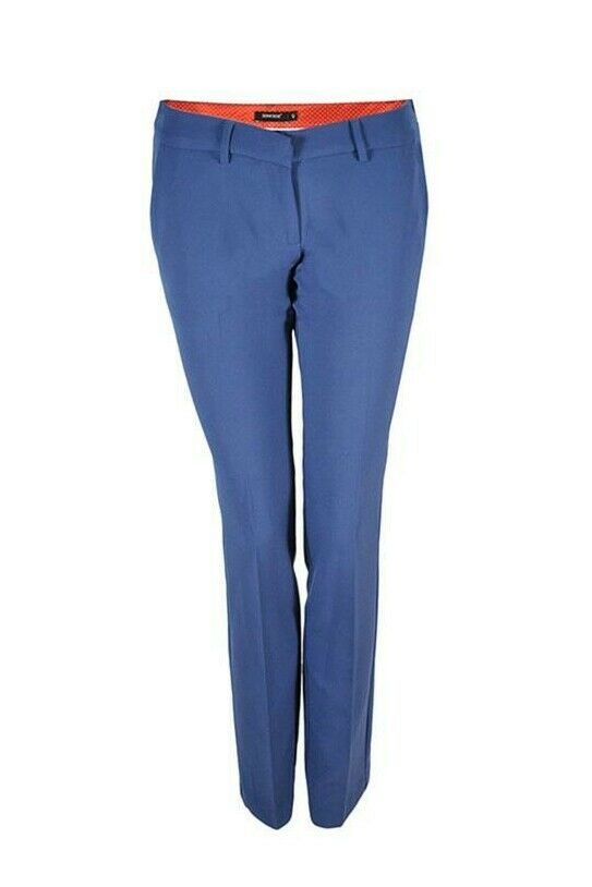 Pantalone Denny Rose bleutte 63DR12016 TAGLIA 40