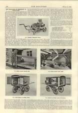 1915 Motor Driving Fruit Press Menu Pump Covered Trucks Electric Agriculture